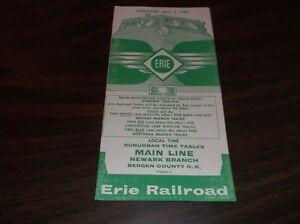 JULY-1959-ERIE-RAILROAD-FORM-7-MAIN-LINE-NEWARK-BRANCH-PUBLIC-TIMETABLE