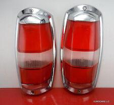 MERCEDES 190SL Tail light lens  Set Ponton 220s etc OEM Originals