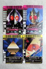 KAMEN RIDER GANBARIDE Japan BLADE KAMEN FINAL ATTACK RIDE FFR 4 Cards Set DECADE