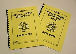 Details about AFAA Personal Trainer Certification Study Guide *FILLED IN*  for Online & On Site