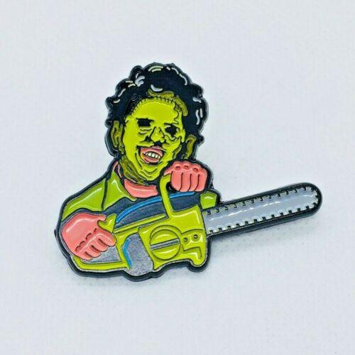The Texas Chainsaw Massacre Leatherface Retro Horror Enamel Pin Badge