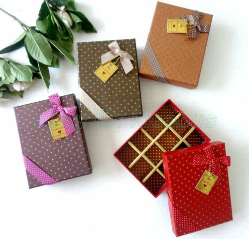 1//2//4//6//8PCS rectangle Favor Gift Box 12 CELLS for chocolates// sweets //candies
