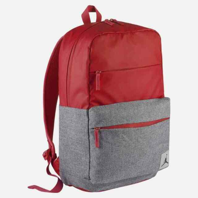 33f2638dd6515f Nike Air Jordan Pivot Laptop Backpack Red Grey 9b0013 R78 for sale ...