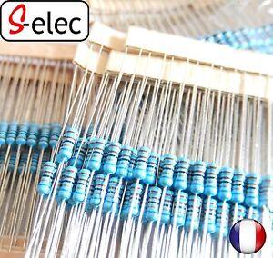 4017-1-4W-0-25W-Metal-Film-Resistor-1-1-Ohm-to-2M-Ohm-au-choix-s-elec-selec