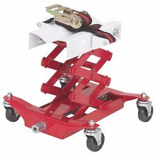 """450 lb Low Lift Transmission Jack 7 1/4"""" to 23 1/4"""" Lift Height Inc Strap Cradle"""