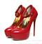 Women-High-Heels-Platform-Strap-Mens-Crossdresser-Queen-Stiletto-Shoes-yoooc thumbnail 1