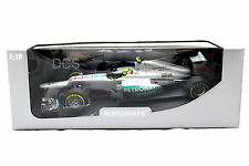 MINICHAMPS F1 W03 MERCEDES AMG PETRONAS 2012 NICO ROSBERG 1/18 DIECAST CAR