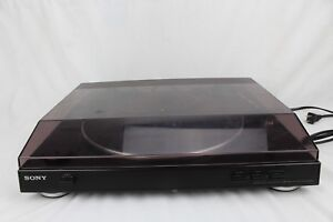 SONY-PS-LX250H-Automatic-Stereo-Belt-Drive-Turntable-System-PARTS-REPAIR-ONLY