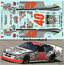 NASCAR DECAL #40 COORS LIGHT KENTUCKY DERBY 2004 DODGE STERLING MARLIN
