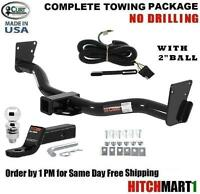 Fits 1995-2004 Chevy S10 Blazer Class 3 Curt Trailer Hitch Package W/ 2 Ball