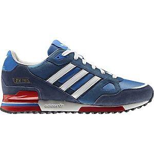 pretty nice 83130 877dd ... Adidas-ORIGINALS-ZX-750-Baskets-Bleu-Rouge-Baskets-