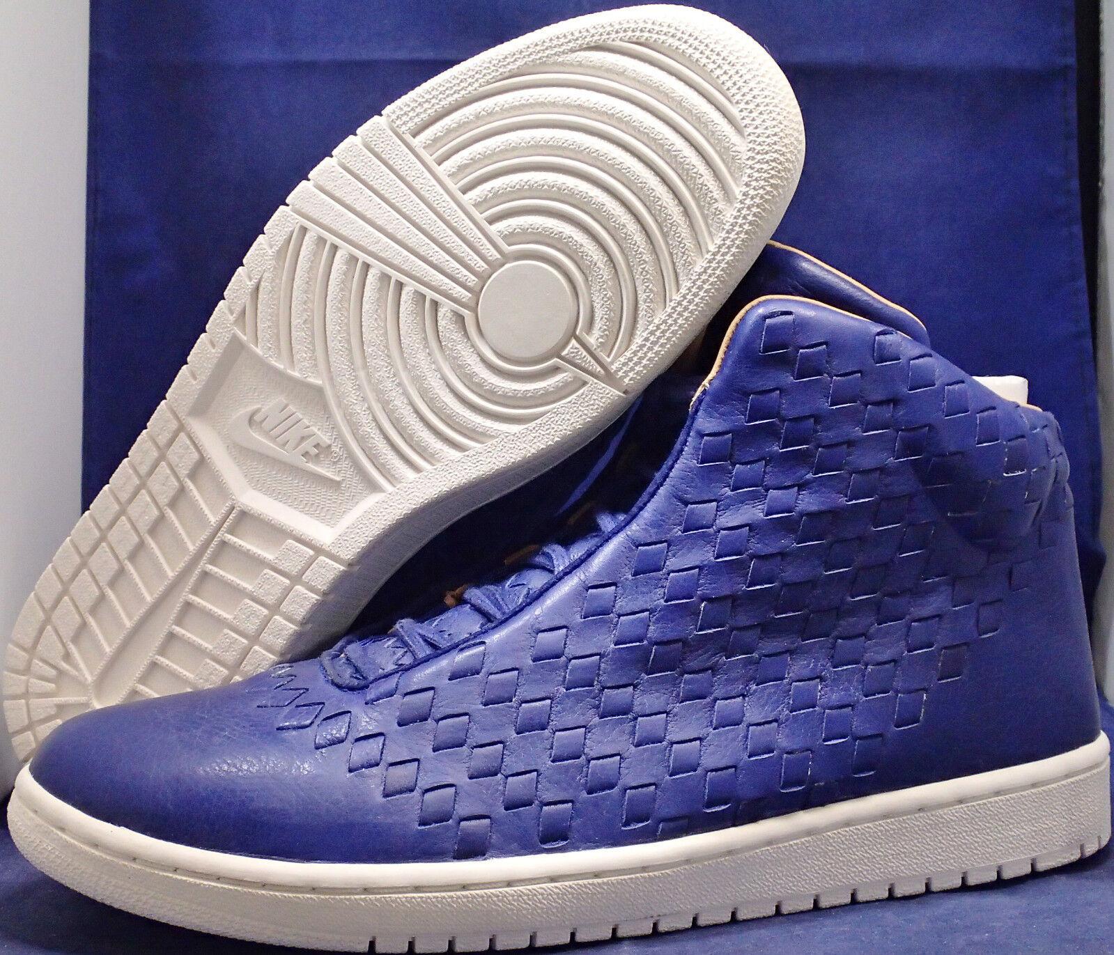2015 Nike Air Jordan Shine Deep Royal bluee Sail Vachetta Tan SZ 11.5  689480-410