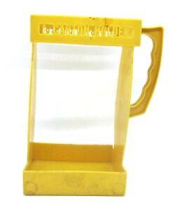 EZ-Carton-Holder-Vintage-Milk-Orange-Juice-Carton-Holder-Easy-Pour-Harvest-GOLD