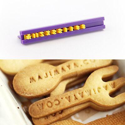 Set de 68 Marcadores de números letras para marcar fondant galletas buttercream