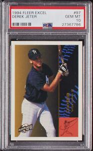 1994-Fleer-Excel-Derek-Jeter-Rookie-RC-97-PSA-10-Gem-Mint