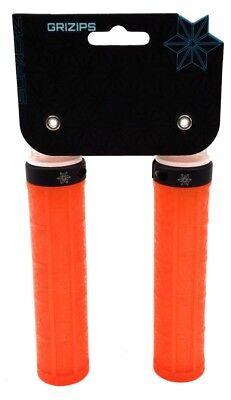 Supacaz Grizips Lock//On Bicycle Grips Bike Grips /& Bike Tape//Celeste//Black//135mm