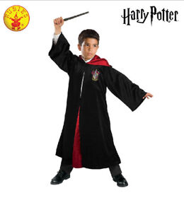 Harry-Potter-Costume-Boy-Deluxe-Gryffindor-Robe-Child-Girl-Kid-Bookweek-Licensed