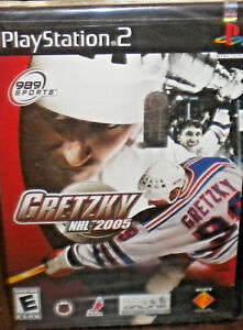 Gretzky-NHL-2005-Sony-PlayStation-2-2004-PS2-GAME-BRAND-NEW-amp-FACTORY-SEALED