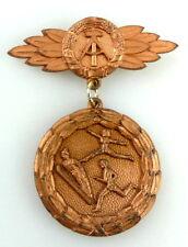 #e2008 1989 Kreis Kinder- und Jugend- Spartakiade bronzefarben DDR