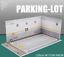1:32 Parking Lot DIY Building Model Scene For Diecast car Figures TOMY HOT WHEEL