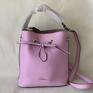 Image is loading FURLA-GLICINE-PURPLE-MEDIUM-Costanza-Medium-Bucket-Bag- 52dc745478a5f