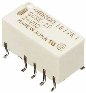 Details about DPDT Surface Mount Latching Relay 2 A, 3V dc For Use In  Signal Applications