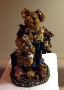 "Boyds Bears, ""G. Anna Gottahaveit and Friends"" # 228400SM NIB 2002 exclusive COA"