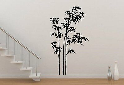 Giant Bamboo - Amazing Vinyl Wall Stickers Durable Decal Decor. High Quality UK