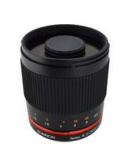 Rokinon 300mm F6.3 Mirror Lens for Micro Four Thirds Mount (M4/3) - Black - New!