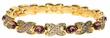 Simulated Alexandrite - Magnetic Therapy Bracelet