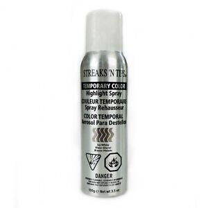 Streaks 'N Tips Temporary Highlight Spray 3.5oz - ICY WHITE