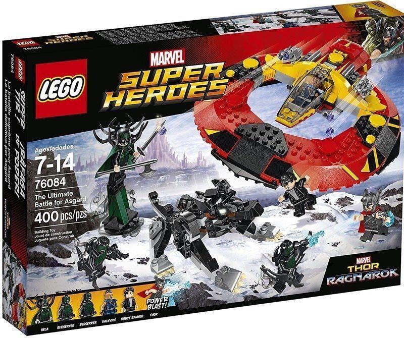 76084 LEGO Marvel Super Heroes - Thor Ragnarok The Ultimate Battle for Asgard