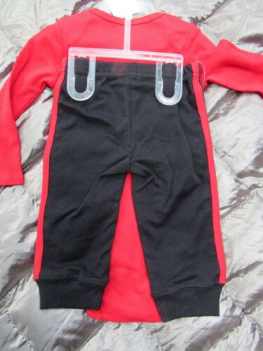 NWT Carter/'s SINGLE and LOVING IT 2 pc Red /& Black Pant SET Sz NEWBORN or 9 mo