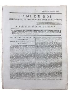 Vimarce-en-1791-Mayenne-Alencon-Revolution-Francaise-Chevalier-de-Saint-Louis