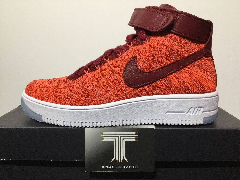 Nike Nike Nike Air Force 1 Flyknit  818018 800  UK Talla 6  euro 40 11e651