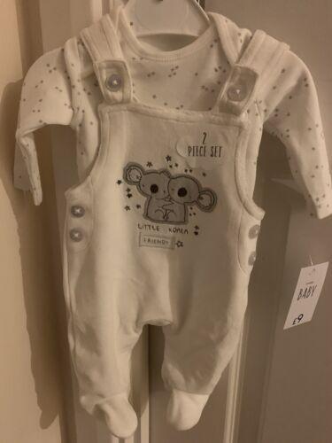 New 2 Piece Baby Koala Set First Size RRP £9