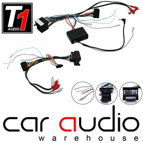 Audi A3 1999-2012 BOSS Car Stereo Steering Wheel /& Bose Amp Bypass Interface Kit