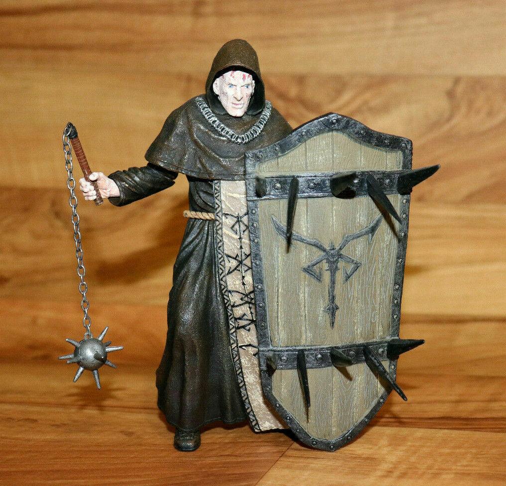 Resident evil 4 ILLUMINADOS MONKS Monk with Shield Action Figure Figur Neca