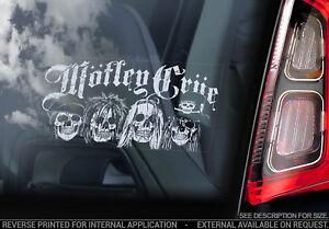 Motley-Crue-Car-Window-Sticker-Heavy-Metal-Band-Rock-Pop-Decal-Sign-V01