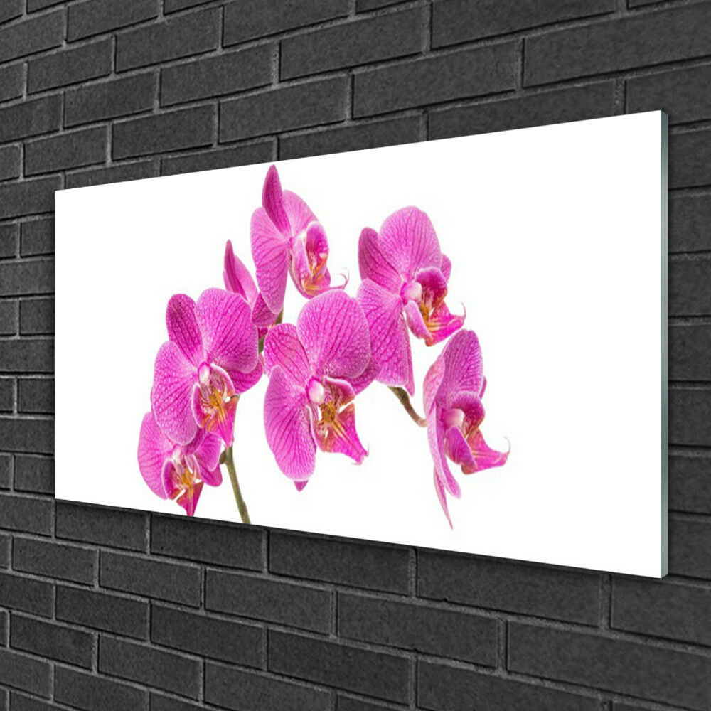 Glass print Wall art 100x50 Image Picture Flowers Flowers Flowers Floral 91b9fa