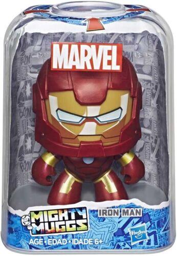 Thor Spiderman Captain America Iron Man Marvel Mighty Muggs 4 varieties