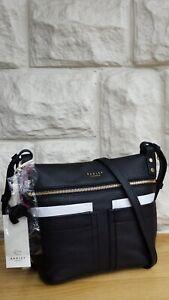 d16c95b39db RADLEY LONDON 'KENSAL' PEBBLED LEATHER CROSS BODY BAG. RRP £149 | eBay