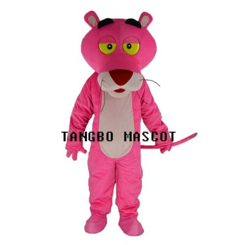 New Pink Panther Mascot Costume Fancy Dress Adult Suit Party Carnival Parade