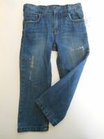Girls Blue Jeans Pants Toddler Jeans Girls Clothes Worn Look Arizona Jeans 3t