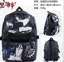 New Anime Kuroshitsuji colorful Bag Black Butler Backpack shoulderbag Schoolbag