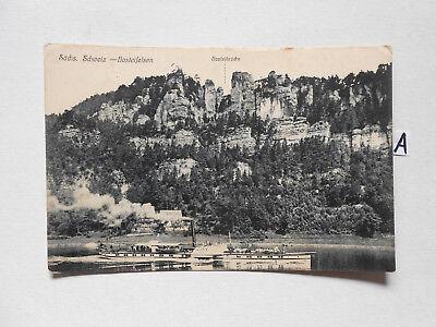 Postkarte Ansichtskarte Sachsen.schweiz-basteifelsen