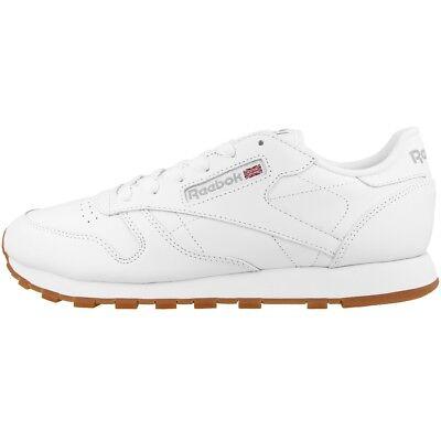 Fiducioso Reebok Classic Leather Women Scarpe Donna Tempo Libero Sneaker White Gum 49803-mostra Il Titolo Originale