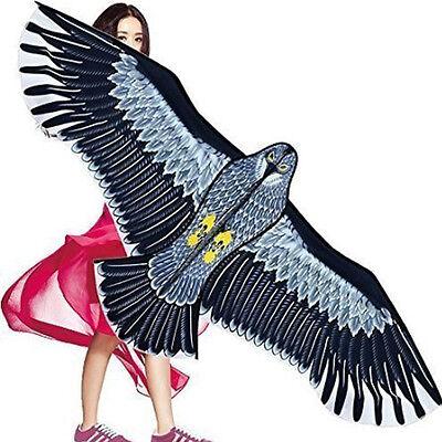 NEW Huge 1.5m Eagle Kite single line Novelty animal Kites Children's toys