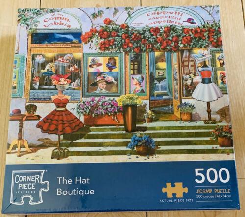 Il cappello Boutique Puzzle 500 PEZZI NUOVA COLLEZIONE DONNA SHOP FASHION Guido Borelli