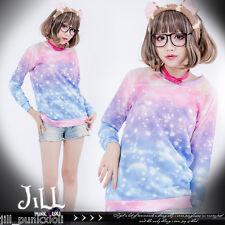 japan Lolita cartoon fantasy creamy mami magic star dust macaron tshirt J2P1004
